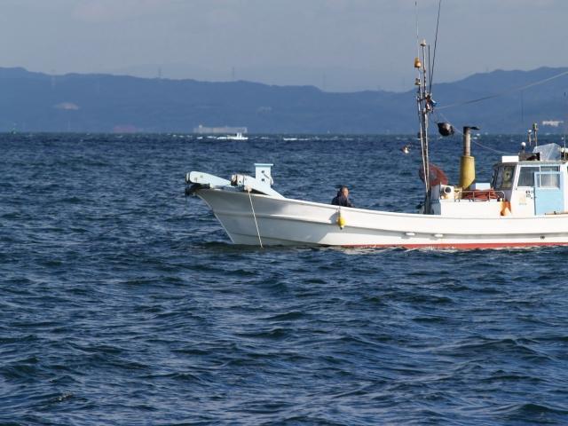 美保湾漁船