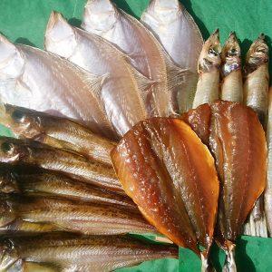 かやの鮮魚店自家製 干物セット