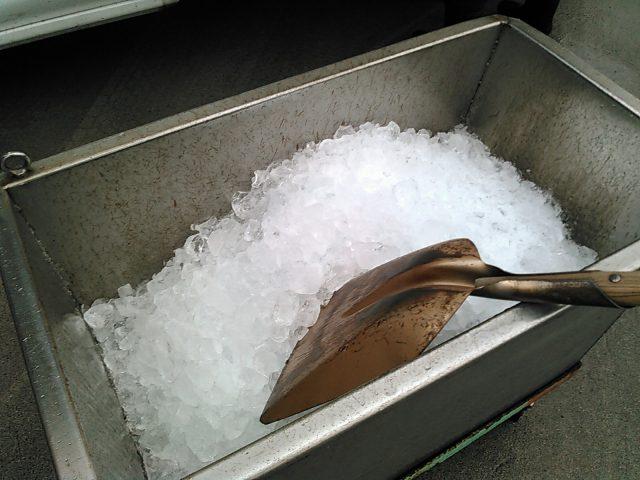 山陰冷蔵さんの氷