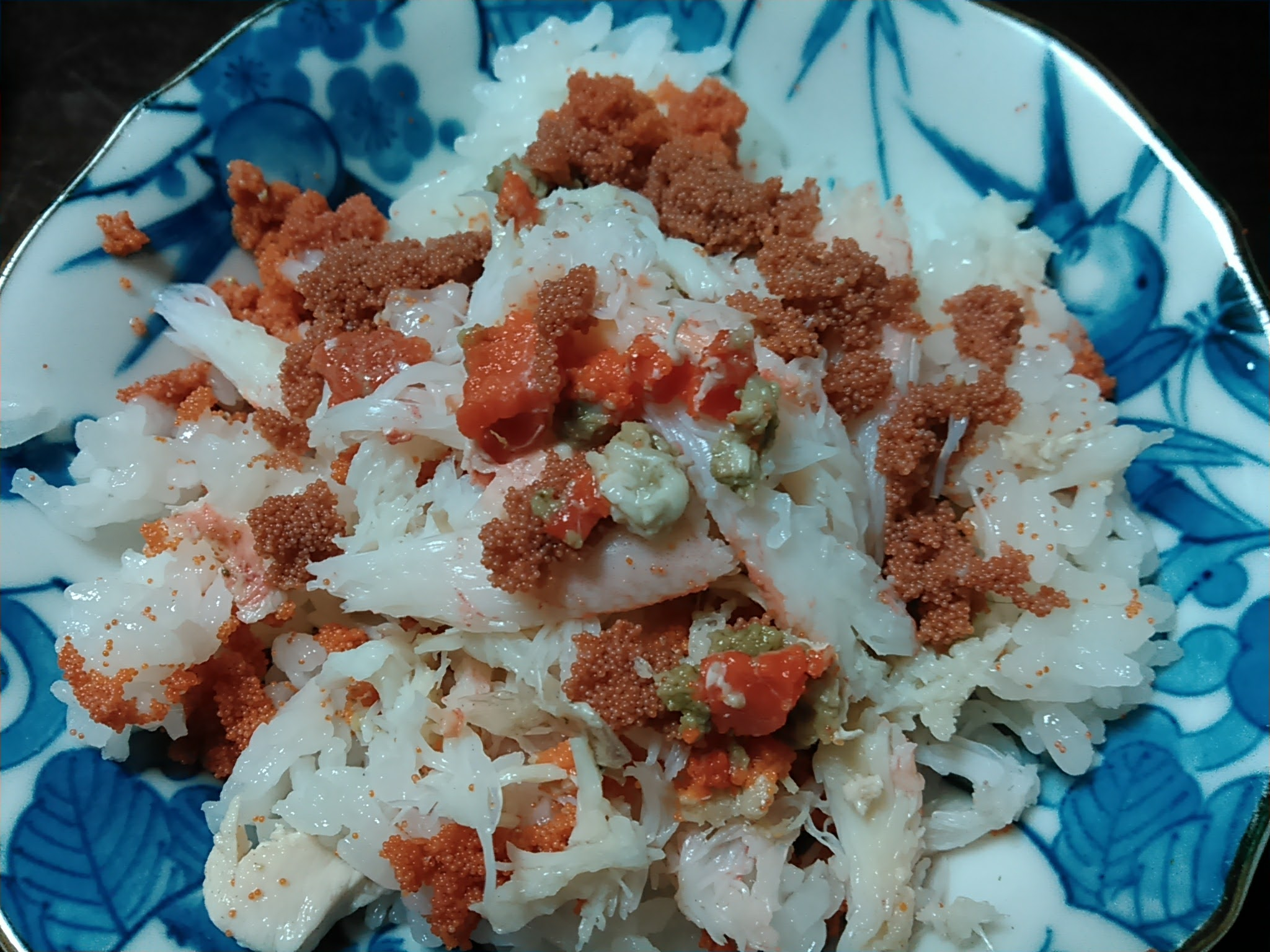 勢子ガニ寿司