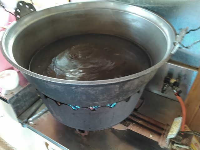 ボイル用の大鍋