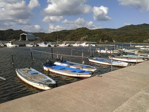 鳥取県境港市外江町、外江漁港