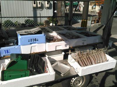 水木ロードでの移動販売