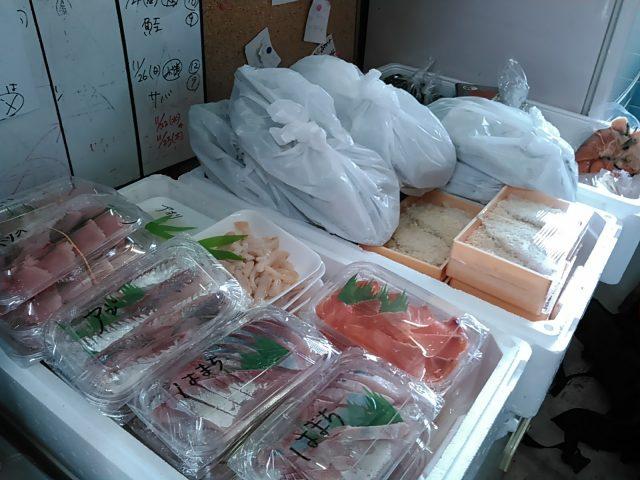 魚介類 宅配サービス 荷造り