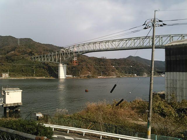 境港灯台から見た境水道