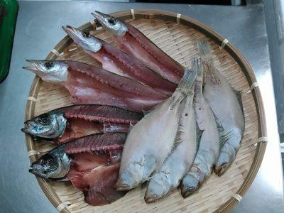 山陰沖・境港産 干物1800円セット(3種)