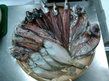かやの鮮魚店 干物セット