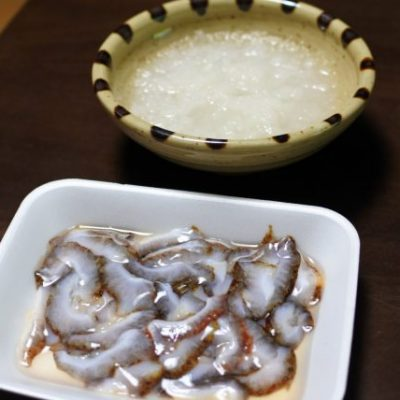 赤ナマコポン酢