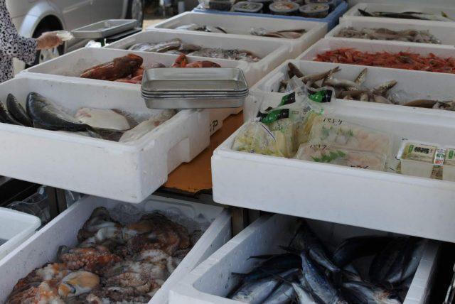 魚介類移動販売