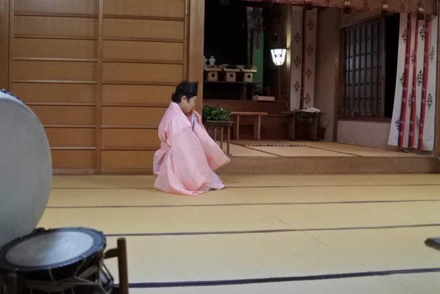 白尾神社 上屋敷宮司