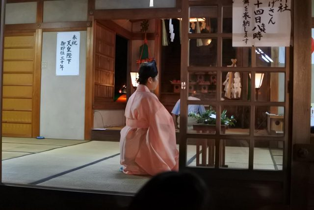 西灘神社 上屋敷宮司