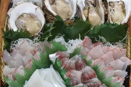 境港鮮魚刺身盛り合わせ