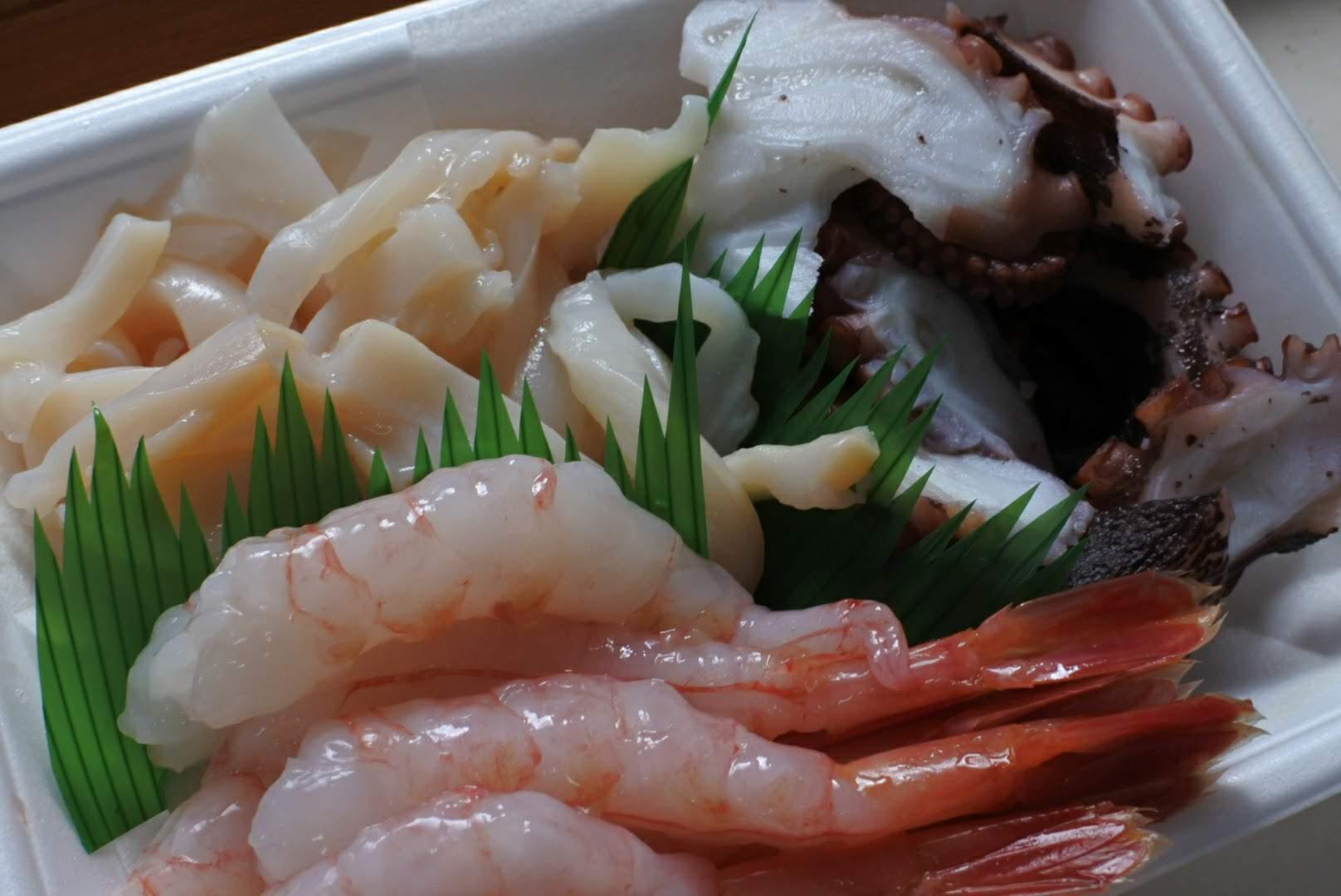 鮮魚宅配サービス 刺身三種盛り
